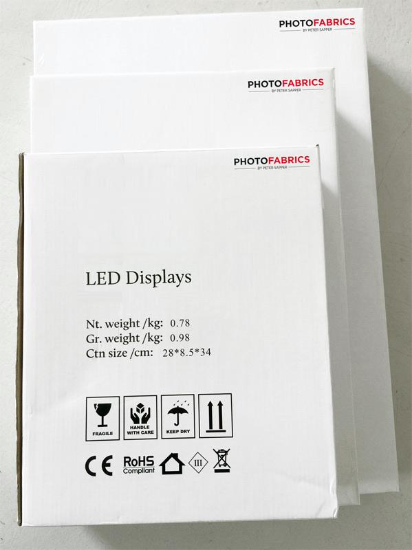 LED-Acrylrahmen